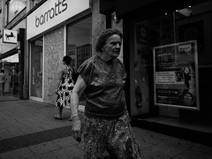 Concern (Thomas Gooderidge) Tags: white black monochrome contrast candid southampton