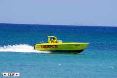 Parachute boat Tunisai 2015 (seifracing) Tags: rescue cars fun europe traffic tunis transport vehicles research hammamet fuel spotting services recovery tunisie armed tunisian tunesien seifracing