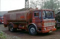 AEC Mercury, JAN 635K (ergomammoth) Tags: lorry lorries truck trucks tanker aec aecmercury ergomatic tiltcab aecltdsouthall britishleylandtruckbusdivision petroltanker texaco rushgreenmotors hitchin hertfordshire