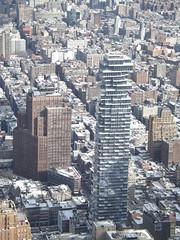 Aerial View, Snow View, Lower Manhattan, 56 Leonard Street, One World Observatory, World Trade Center Observation Deck, New York City (lensepix) Tags: aerialview snowview oneworldobservatory worldtradecenterobservationdeck newyorkcity observationdeck snow winter