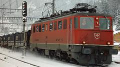 Ae 6/6 11439 (BLS + Basel) Tags: sbb ae66 ae610 kandersteg lötschberg nordrampe eisenbahn fahrzeug zug lokomotive