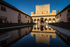 Court of Myrtles, Nasrid Palaces, Alhambra (chrisgj6) Tags: palaces unesco nasridpalaces worldheritage palace patiodearrayanes palaciosnazaríes andalusia palaciodelpartal architecture courtofmyrtles alhambra nasrid spain granada andalucía es