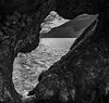 Through the tree hole (mike.noble74) Tags: canon80d forest tree water blackandwhite scotland loch lochlomond