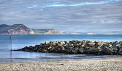 The West Dorset coast (Baz Richardson (catching up again!)) Tags: dorset lymeregis beaches cliffs coast westdorsetcoast goldencap