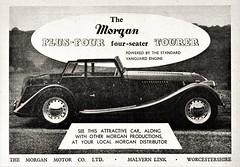 1956 Morgan Plus Four Tourer (aldenjewell) Tags: 1956 morgan plus four tourer seater ad standard vanguard engine
