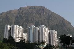 Kowloon Hills tower over apartment blocks (Marcus Wong from Geelong) Tags: kowloonbay hongkong hongkong2013