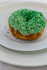 Donut time (cecilialombard) Tags: food donut kos groen wit green white