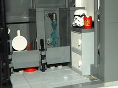 DSCF2256 (Nilbog Bricks) Tags: star wars lego moc minifigures stormtrooper base barracks
