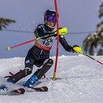 Mount Seymour Enquist Slalom - Day 2 Ladies 2nd all ages - 2nd U16 PHOTO CREDIT: Christopher Naas