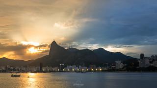 Sunset & Blue Hour @Mureta da Urca, Rio de Janeiro, Brazil