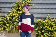 Asymmetric Sweater (Wasel Wasel Crafts) Tags: craft handknit sweater katia yarns kal asymmetric handmade