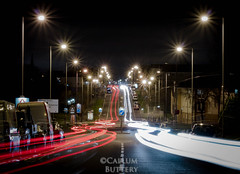 IMG_9740 (callumbuttery) Tags: light trail night scotland camera canon ideas scottish wishaw north lanarkshire callum buttery blue red white color colour
