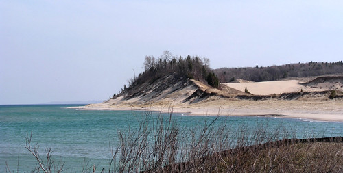 Where Sleeping Bear Dunes Begin by Spring Chick