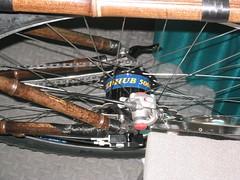 Craig Calfee 008 (brianwickman) Tags: bicycle handmade bamboo carbon handbuilt rohloff nahbs nahbs2006 handbuiltbicycle