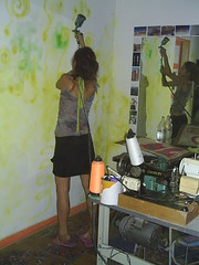 Ju in action (Petite Poupe7) Tags: art amiga decorao santateresa loveisdivine francobresilienne julianasolari femaleattack chezju decomju juinaction 5daysofdapainting
