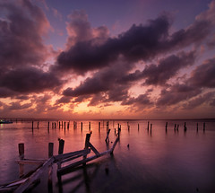 Cancun Sunset #1 (Peter Bowers) Tags: sunset lake canada nature water landscape photo bravo natural outdoor quality patio cancun d200 naturalbeauty oneyear beefeaters peterbowers outdoorphotography specnature peterbowersphotography