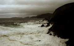 Choum U Neoil (Hugh_C) Tags: ireland storm island dingle kerry atlantic explore inis blasketislands coomeenoule