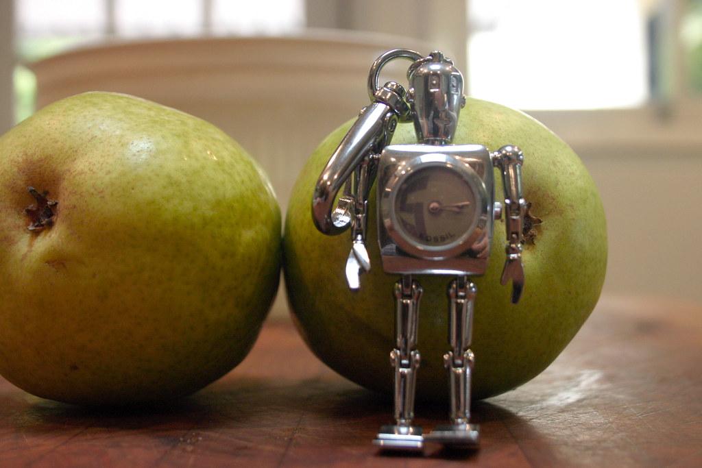 Robot Keychain Watch