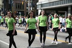 Irish dancers (Bruno Girin) Tags: atlanta irish usa green georgia dance parade stpatrick