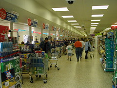 Tesco Supermarket,Northampton UK (Eleventh Earl of Mar) Tags: uk england food northampton britain trolley tesco supermarket kart groceries customers consumers