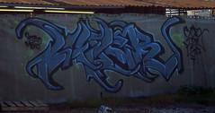 I2W piece (Long Beach, CA) (TRUE 2 DEATH) Tags: streetart graffiti longbeach spraypaint lbc 落書き i2w init2winit