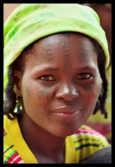 tribal marks (janchan) Tags: africa portrait woman tattoo portraits women village documentary tribal tattoos marks nigeria donne tatoo mujeres ritratto mariam forward kano scarification reportage tatuaje fulani theface hausa scarifications whitetaraproductions dambatta obstetricfistula tribalmarks