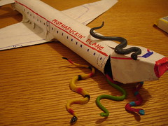 Wait, Wait, What's On The Plane? (DYFL) Tags: birthday plane crafts snakes snakesonaplane