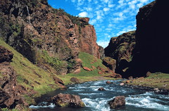 Iceland Fljotsdalur (2) (Stephen P. Johnson) Tags: wow landscape iceland superb canyon rapids explore specland specnature fljotsdatur myexplore