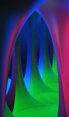 Dreamspace Arch (rodillagrande) Tags: 2005 blue abstract green london art wow topv333 purple dreamspace topvaa