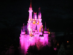 Cinderella Castle at Night (StartedByAMouse) Tags: castle night disney cinderella waltdisneyworld magickingdom interestingness52 i500 sbam 5stardisneyaward