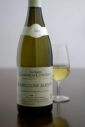 Domaine Confuron-Cotetidot, Bourgogne Aligote Burgundy France