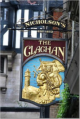 The Clachan (crazyBobcat) Tags: travel england london english sign pub trip2scotland soho victorian theclachan pubsign favcol