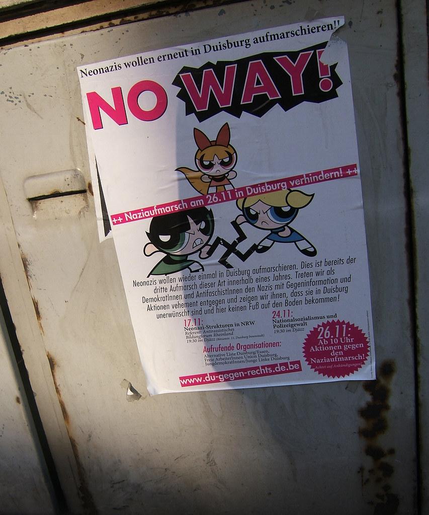 Powerpuff Girls hate nazis!