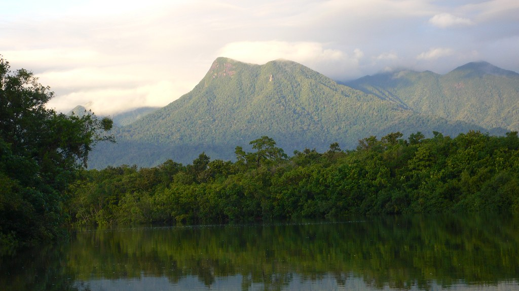 Mountains, Mossman river cruise, Daintre by gruntzooki, on Flickr