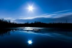 The Sleeping Geese (Ian David Blm) Tags: longexposure blue moon reflection topf25 glas