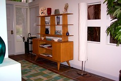 Hey-Wake Room Divider @ Entry (Terry.Tyson) Tags: new house 2006 midcenturymodern heywoodwakefield lasposas