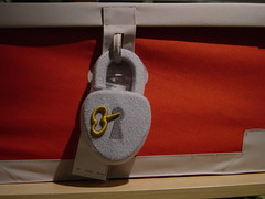 DSC00894 (Faded Photograph) Tags: red art ikea toys creative things novelty end padlock favorited