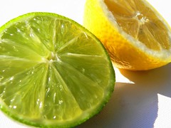 Lemons and limes 2 (janinehealy) Tags: light food white color colour macro green cooking nature kitchen yellow closeup fruit digital fz20 juicy yummy lemon close yum bright tasty lemons panasonic taste colourful lime sour limes janine dmc lecia lemonandlime janinehealy