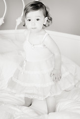 dreamgirl (sesame ellis) Tags: portrait blackandwhite girl toddler mykid year2 warmtone vintagedress sollasdresses