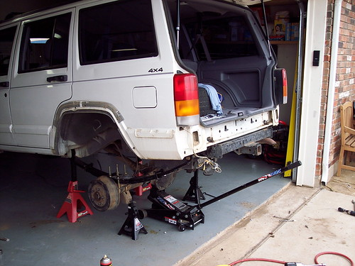 Jacking Up An Xj Jeepforum Com