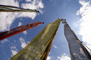 Prayer Flags in Paro, Bhutan