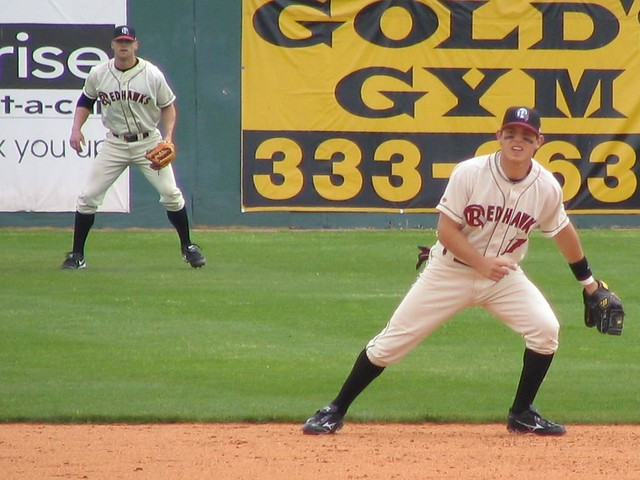 Ian Kinsler at Shortstop, Jason Botts outfield