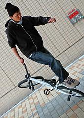 Bike_Dude (Paul Hillier Photography) Tags: bike japan japanese nikon bmx d70 trick nagano stunt skill