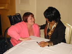I met Ruth Brown - gush! (HeidiMBennett) Tags: las vegas brown house heidi brian nine funk rockabilly venetian ruth viva kizzy weekender umpqua vlv9