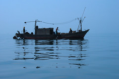 Fishing Boat (Life in AsiaNZ) Tags: china sea tag3 taggedout canon boat fishing asia tag2 tag1 500v20f searchthebest quality chinese powershot ixus lookatme  fishingboat   beihai  guangxi       gtaggroup goddayw1   lifeinnanning flickrgiants