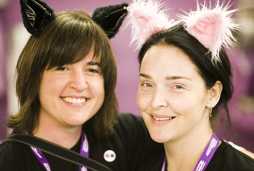 Flickr Kittens, George Oates and Heather Champ