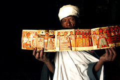 Ancient holy book (adritzz) Tags: africa travel people color 500v20f tribal sacred ethiopia ethnic culturaldiversity mireassrealm globalspirit analiza4044