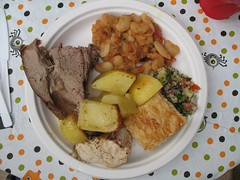 Greek Easter Dinner Plate