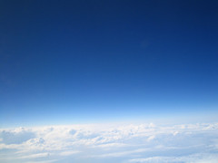 tranquility on the horizon... (bitzi  ion-bogdan dumitrescu) Tags: blue white clouds plane fly view flight bitzi ibdp findgetty ibdpro wwwibdpro ionbogdandumitrescuphotography