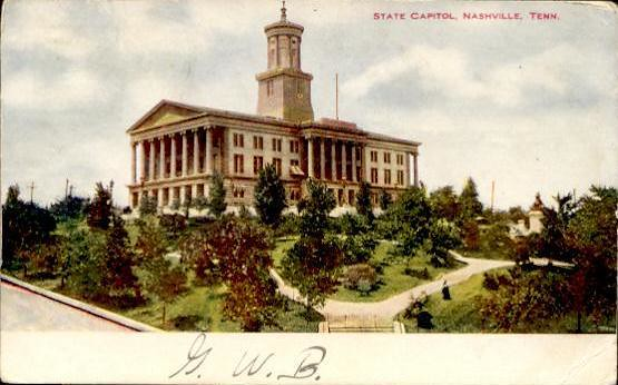 1907 post card view of the Capitol